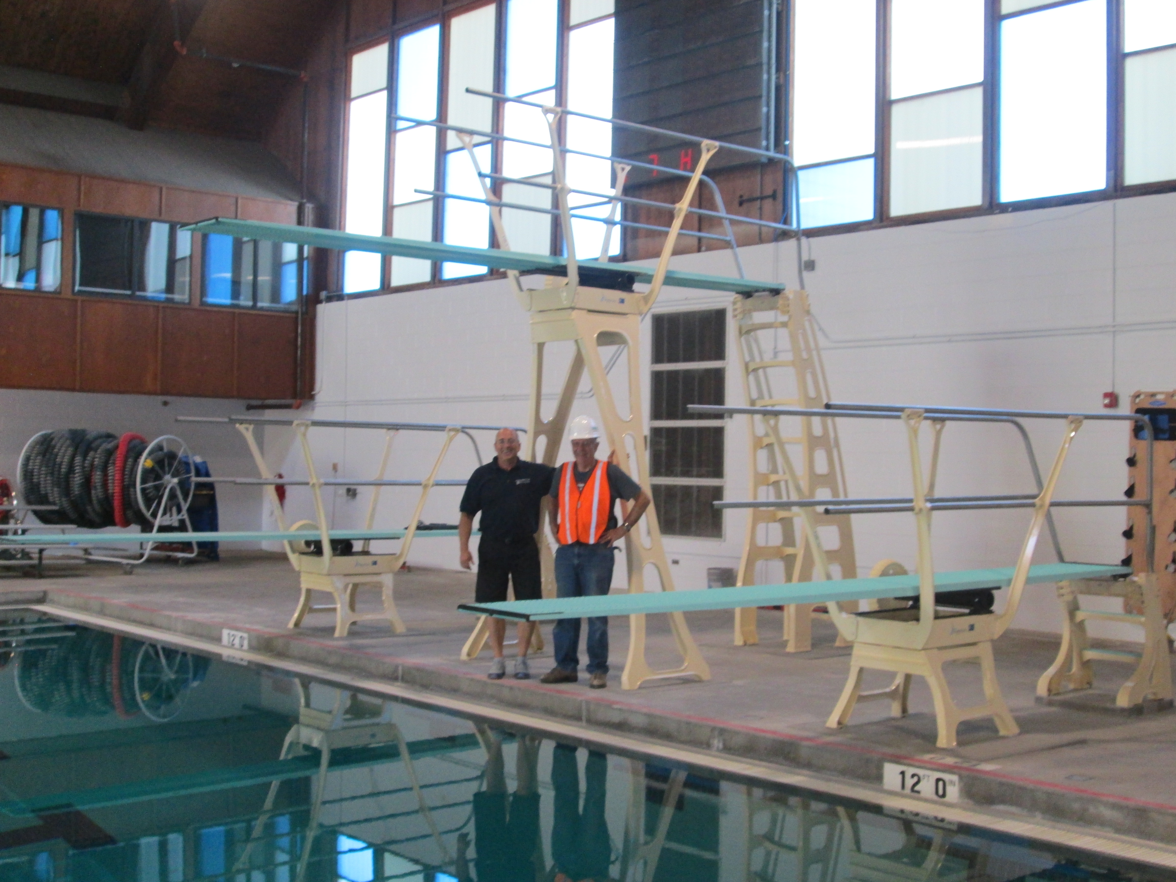 Person Diving - Diving Boards